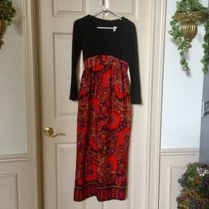 Bright Vintage 60's Patty O'Neil Dress